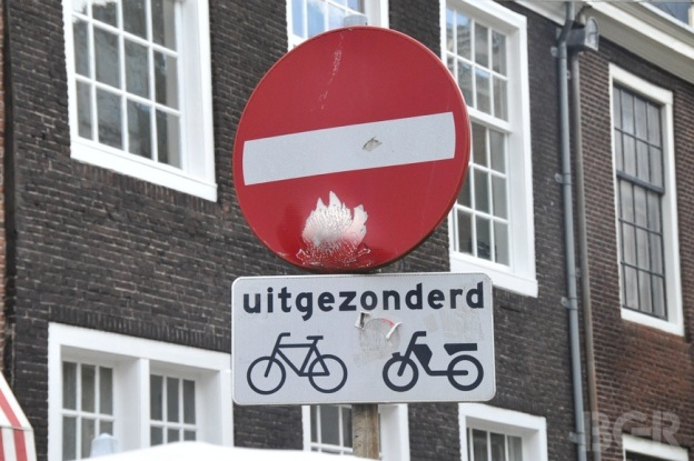 No Bikes Sign In Amsterdam