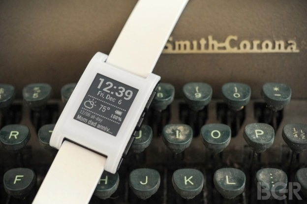 Pebble typewriter