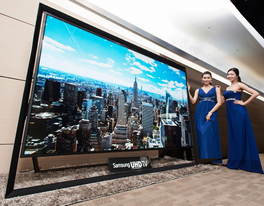 Samsung 100-inch UHDTV Unveiled � Largest in the World | BGR