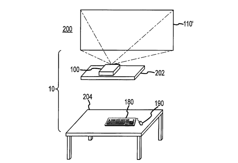 Apple TV Patent Desk-Free Computer