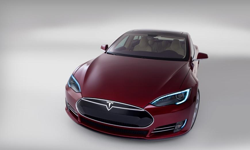 Tesla Model S Self-Driving