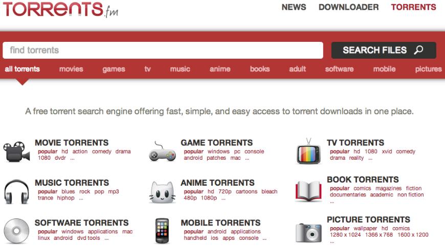 Torrent.fm Torrent Site