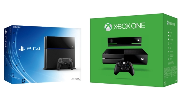 Xbox One Box vs PS4 Box