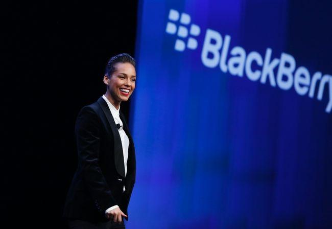 Alicia Keys Leaves BlackBerry