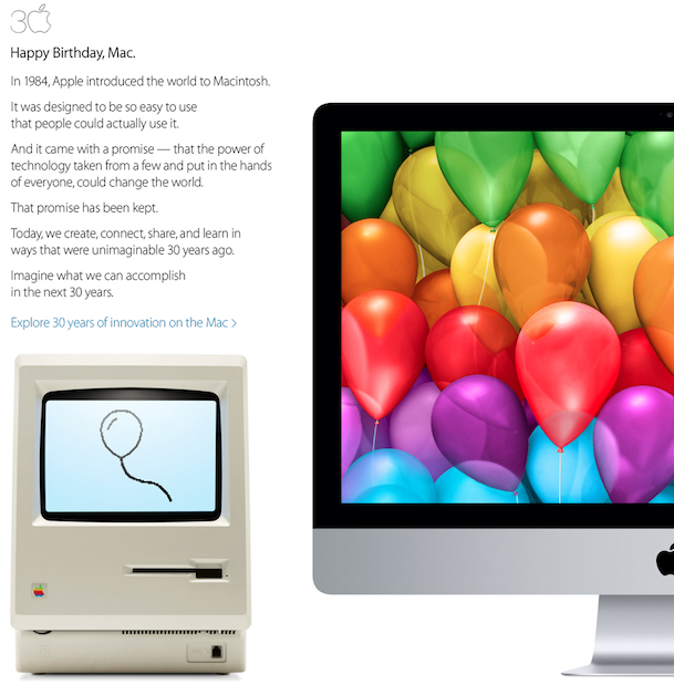 Apple Mac 30 Years of Innovation