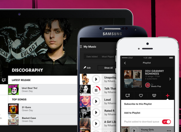 Beats Music Streaming Service Launch