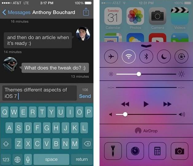 iOS 7 Colors Jailbreak