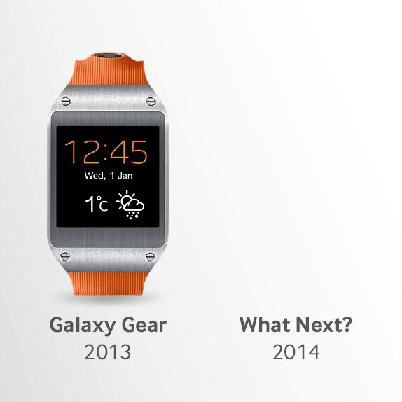 Galaxy Gear 2 Tease