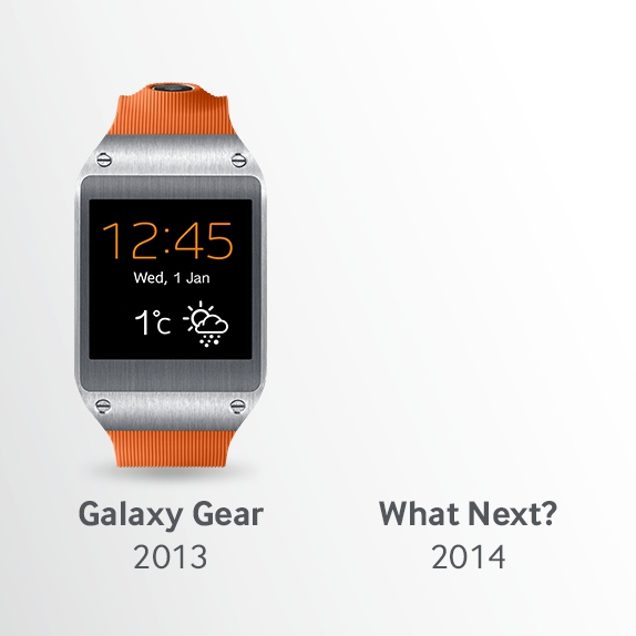 Galaxy Gear 2 Tease