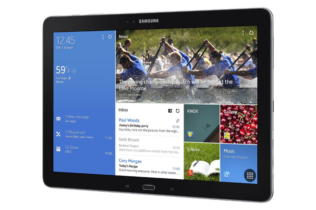 Samsung Galaxy Note Pro 12.2 Announced