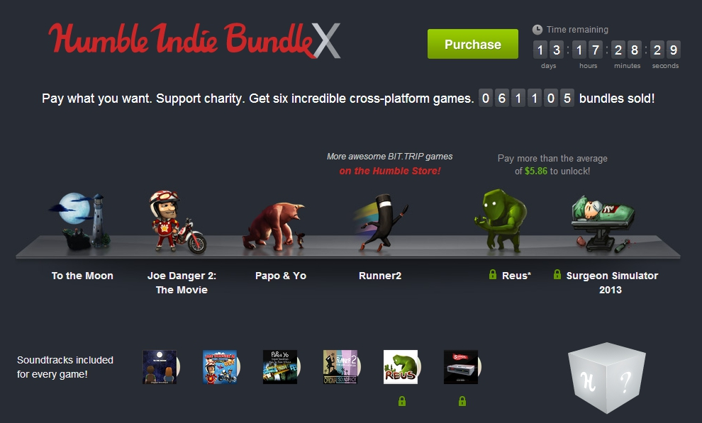 Humble Indie Bundle X: Pay what you want for six great indie games ...