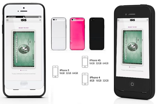iPhone Isis NFC Case Launch