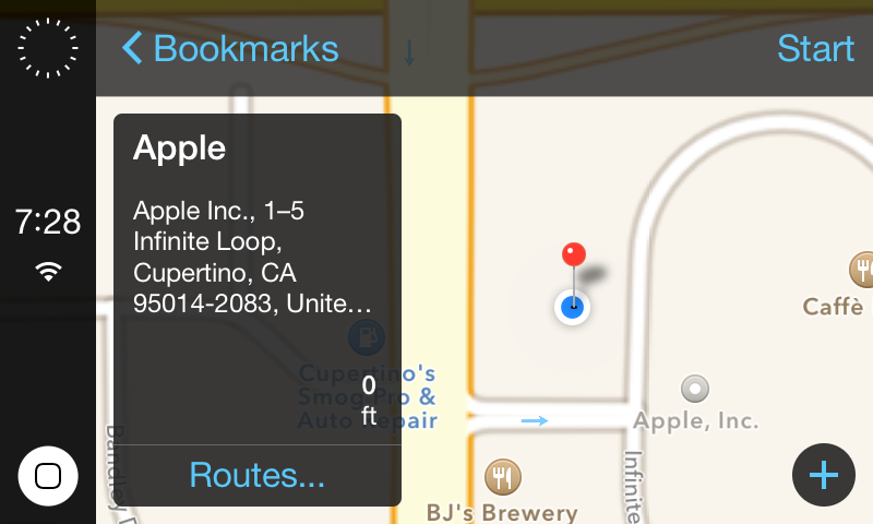 iOS In The Car Screenshots