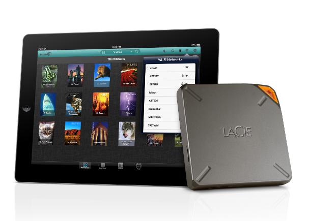 1TB LaCIe Fuel iPad, iPhone, Mac hard drive