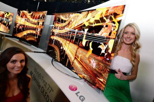 4K Curved TV