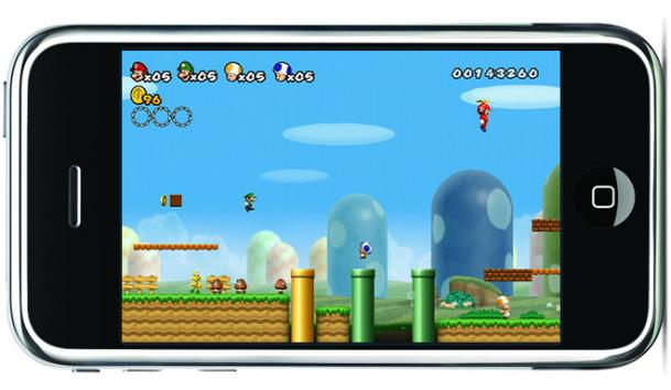 Nintendo iPhone Games