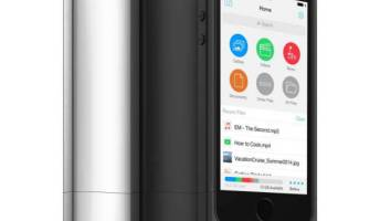Mophie Space Pack iPhone 5s Launch