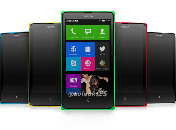 High-end Nokia Android Smartphone