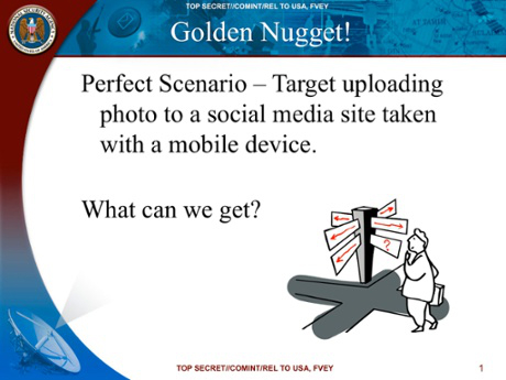 NSA presentation | Image source: The Guardian