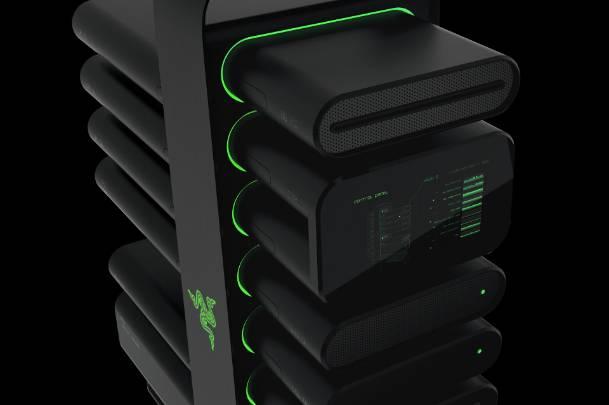 Razer Project Christine Modular PC Concept