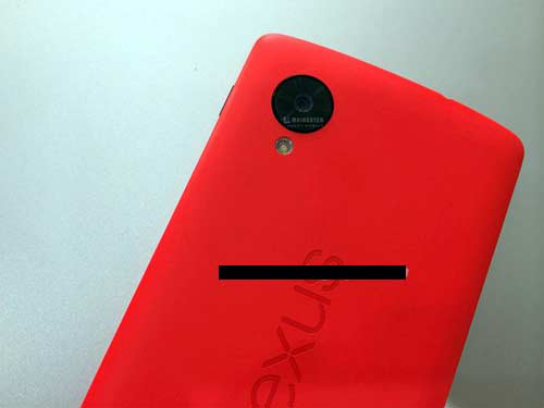 Purported red Nexus 5 model | Image credit: Vietnamnet.vn