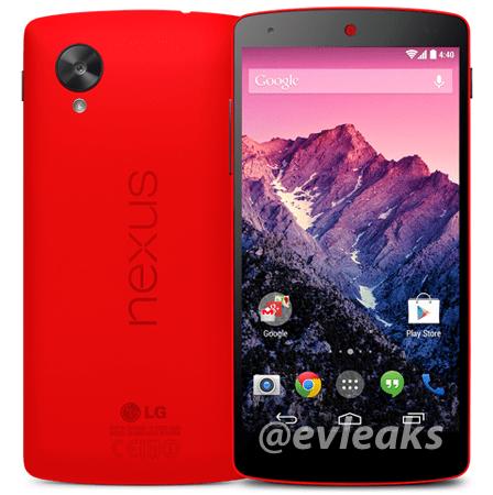 Red Nexus 5 Photos