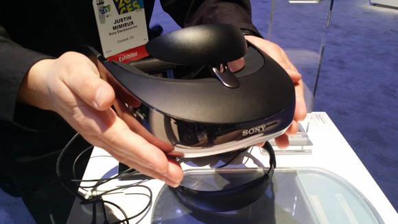 Sony Head Mounted display shown at CES 2014 | Image credit PCWorld
