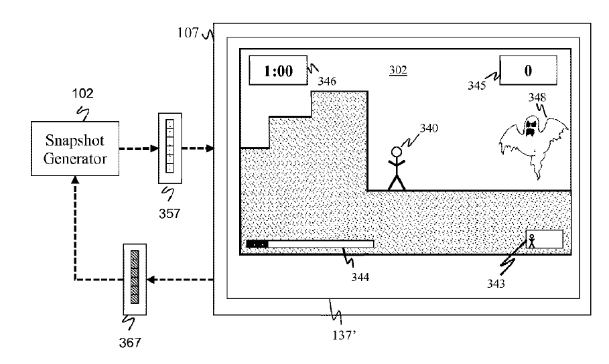 "Sony ""Suspending state of cloud-based legacy applications"" patent 