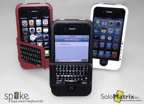 SoloMatrix Spike iPhone Keyboard