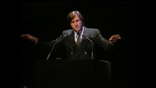 Steve Jobs Mac Demo