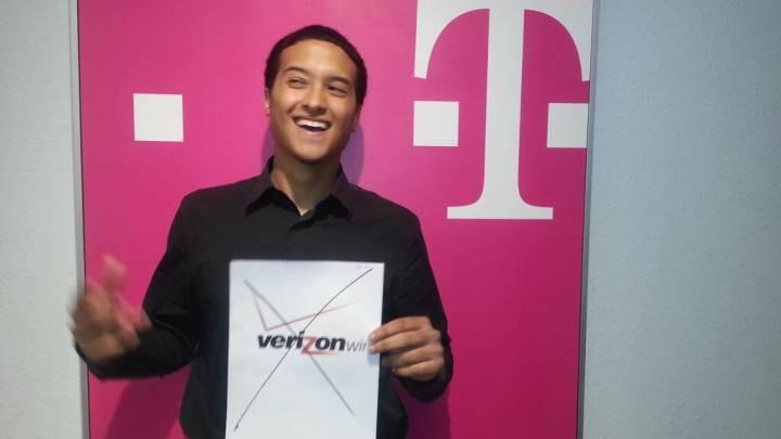 AT&T Verizon Vs. T-Mobile Sprint