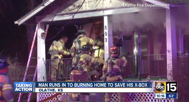 Xbox House Fire
