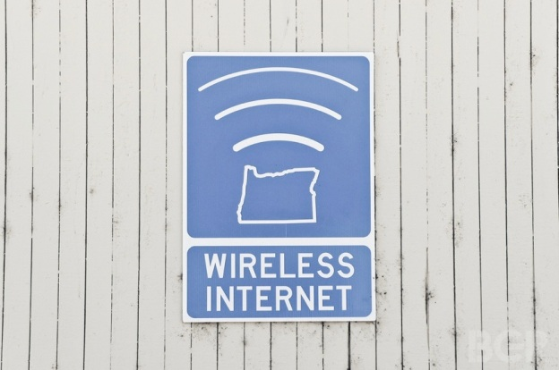 wireless internet sign