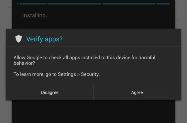 How Android's Verify Apps Feature Works