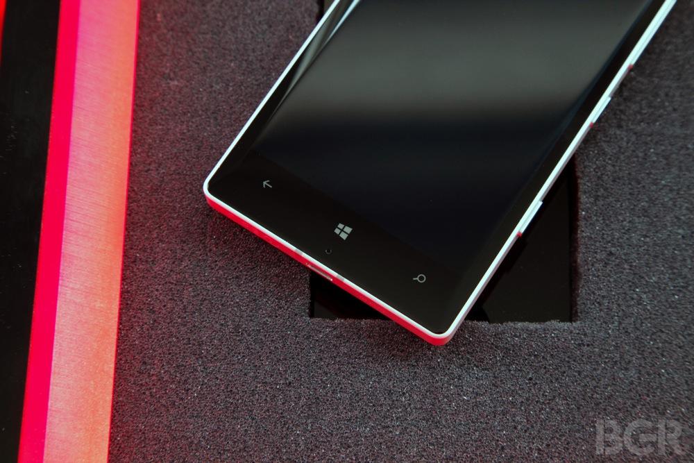 First Microsoft Lumia Phone Leaked Photo