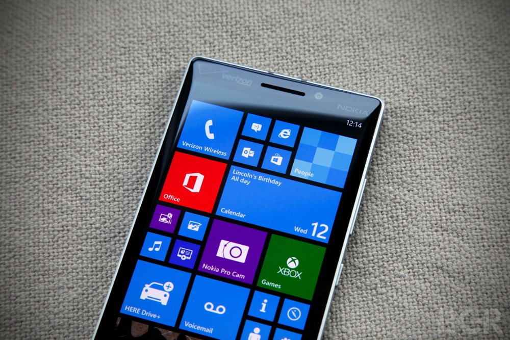 Microsoft Windows Phone 3D Touch