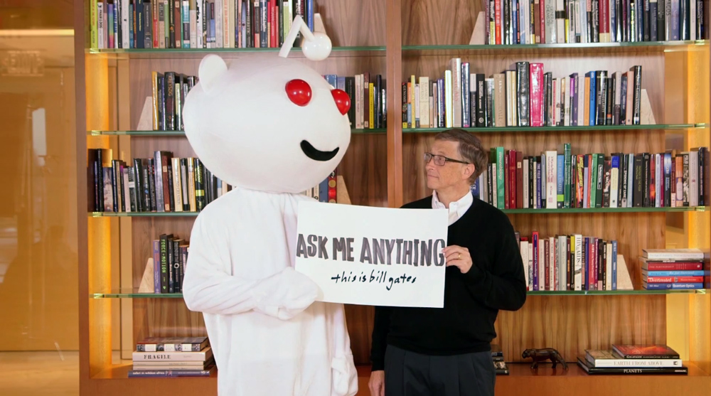 Bill Gates Secret Santa Gift