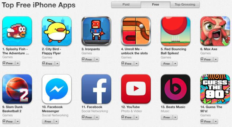 iOS App Store Microtransactions Clones