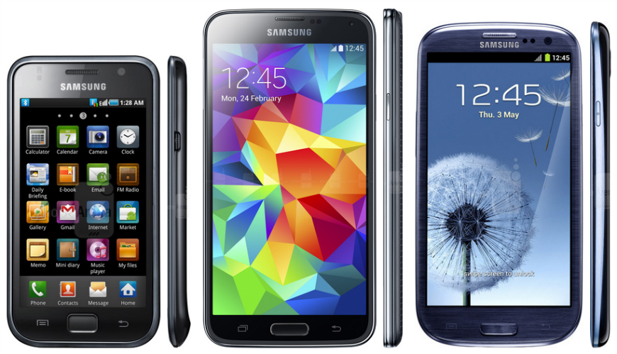 Here's how Samsung's Galaxy S phones have evolved and ...