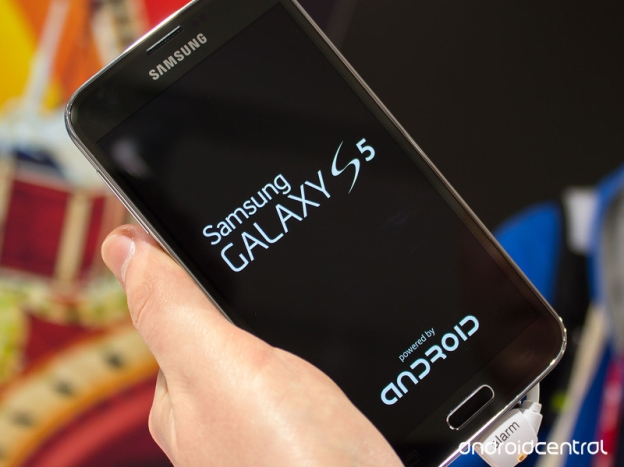 Galaxy S5 boot screen | Image credit: Android Central