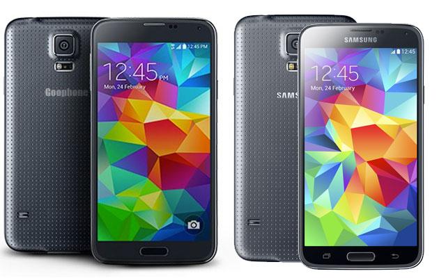 Goophone S5 Galaxy S5 Clone