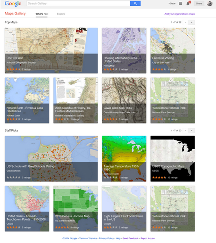 google-maps-gallery