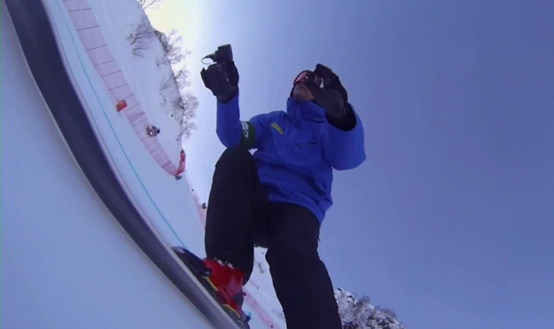 Olympics Downhill Skiing Video