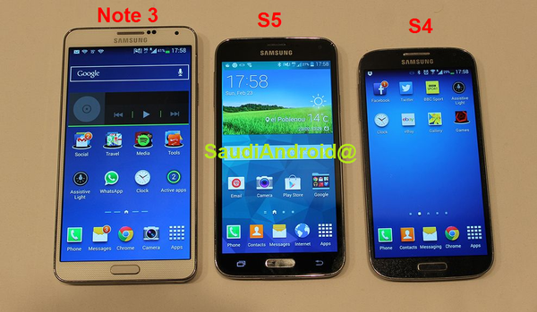 Galaxy S5 Pictures Leak