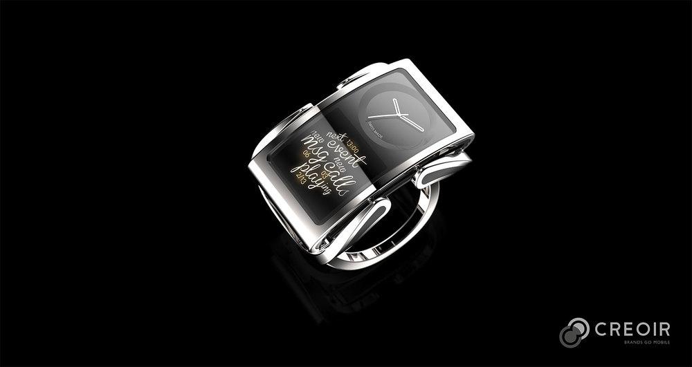 Smartwatch concept design from Creoir
