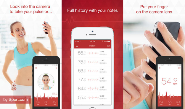 iPhone Heart Rate Monitor