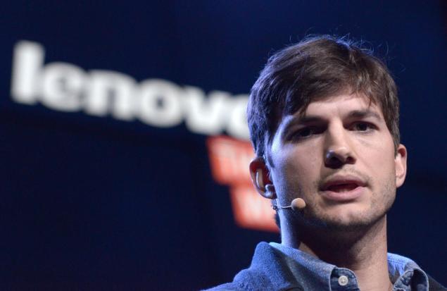 Ashton Kutcher Lenovo Smartphones
