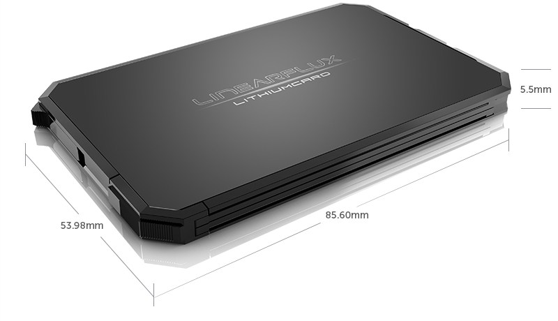 LithiumCard Fast-Charging Smartphone Battery