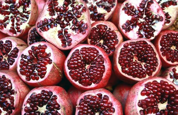 Pomegranate Battery