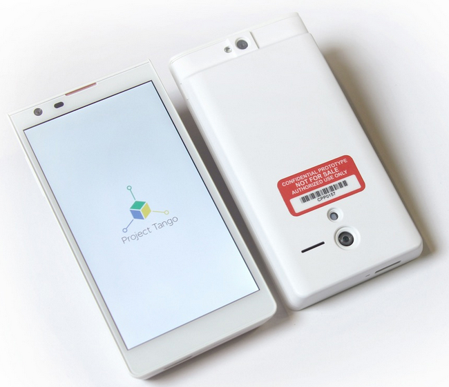 Project Tango Google Android Phone